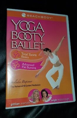 5 YOGA BOOTY Ballet workout exercise fitness DVD lot dancing