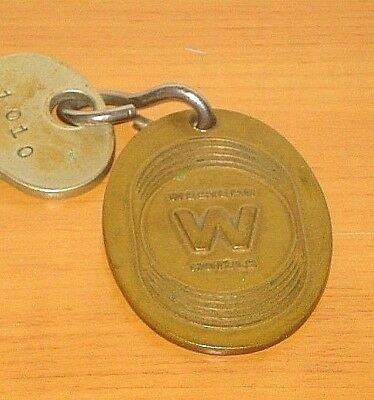 Vintage Hotel Roosevelt Seattle Wa Key FOB Western Hotel Washington