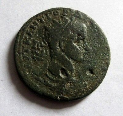 Ae-35   Gordianus III. from Tarsus mint in Cilicia  Rv. Perseus with fisherman