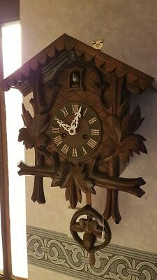 Junghans Key-Wound Cuckoo Clock - Project