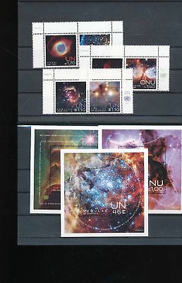 39198/ UNO NY , Wien, Genf ** MNH Lot / Mixture Weltraum Space mit Blocks