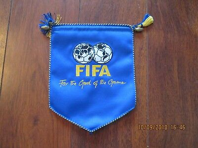Official Fifa 'for The Good Of The Game' Pennant