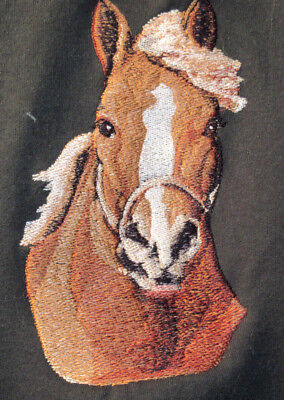 Embroidered Ladies Short-Sleeved T-Shirt - Draft Horse BT3728 Sizes S - XXL