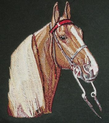 Embroidered Ladies Short-Sleeved T-Shirt - Tennessee Walking Horse BT2663