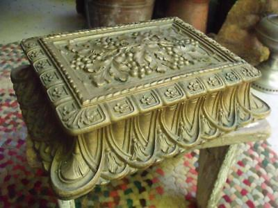 GORGEOUS Fancy Vintage Early 1900s Barricini Chocolate Box WOW!