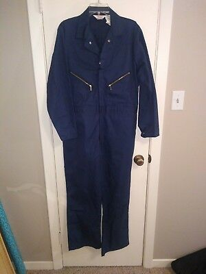 Mens coverall Navy Blue Walls Master Made Size 42 SHORT NWOT Long sleeve
