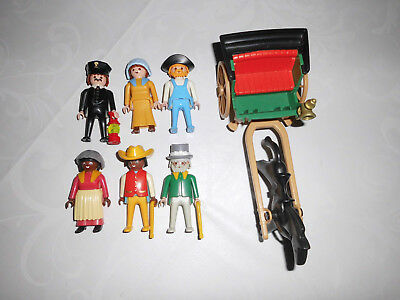 Playmobil 3770 4034 Western Zug Steaming Mary Colorado Springs Figuren  ACW set1