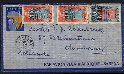 P86032/ Tchad / Chad / Letter / Maury # 33 - 60 Obl / Used 110 €