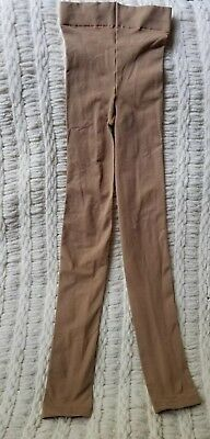 Adult Size Small/medium Carmel -- Capezio Brand Footless Tights - Euc