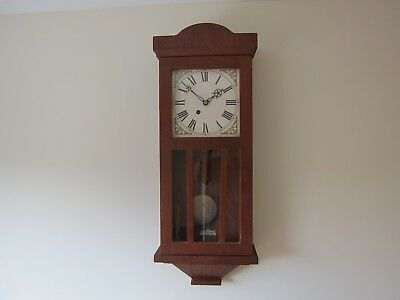 Gledhill Brook Fusee Time Recorder Movement In Craftsman Made Case