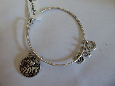 Disney Parks Bracelet Bangle Alex & Ani Sorcerer Mickey Silver Finish New W/ Tag