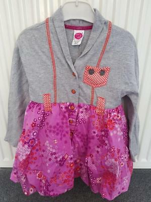 Gorgeous Cake Walk Designer Girls Long Sleeve Dress 4Yrs, 104Cm,