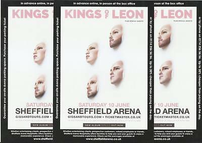 Kings of Leon - 2017 Sheffield Arena Concert FLYERS x 3