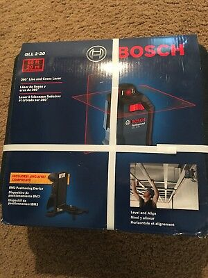 Bosch Professional GLL 2-20 360° 65-ft Self Leveling Line Generator Laser Level