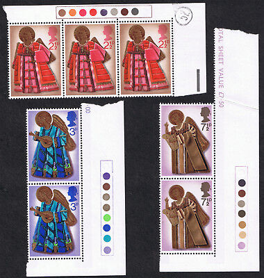 Christmas  1972 - Mint Stamps with Traffic Lights