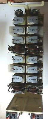 GPO Strowger  UAX 13 LCT Unit for 4 Circuits in good condition all relays TOK