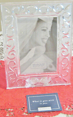 Elegant New Marquis Waterford Crystal Picture Frame Holder No Box