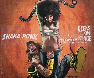 Shaka Ponk - Geeks On Stage (CD & DVD) Live Paris Bercy 2013 (New & Sealed)