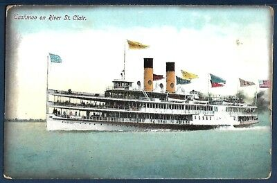 Steamer TASHMOO of the White Star Steamship Company