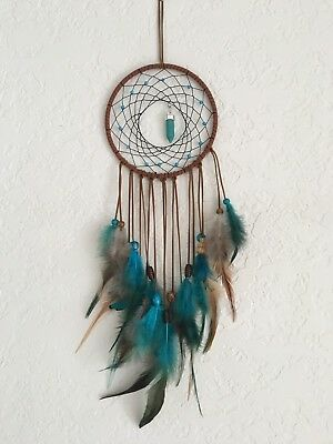 Smallones Dream Catcher for Kids Bedroom Decal Turquoise Stone Handmade Large Dr