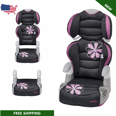 Baby Car Seat Infant Toddler Kids Booster Chair Safety Evenflo Amp High Back NEW