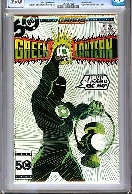 1)Cgc 9.8-Green Lantern #195(12/85)'guy Gardner Becomes G.l.'(Justice League)Hot