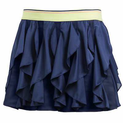 adidas Girls Frilly Climacool Lightweight Breathable Tennis Skirt