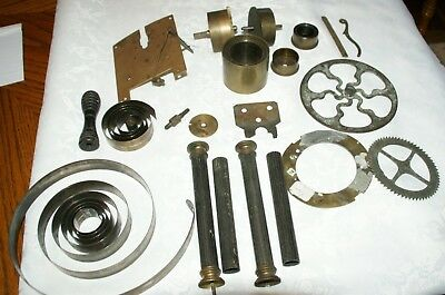 Collection of Vintage/Antique Clock Parts, Spares/Repair