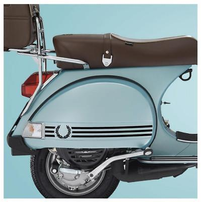 Laurel 3 Stripe Sticker Fits Vespa PX LML Side Panels - Ska  Mod Vespa Skinhead