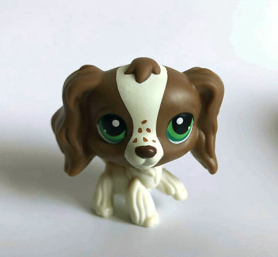 Littlest Pet  White Great Spaniel Dog Child Girl Figure Toy Cute LPS63