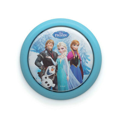 Philips Disney Frozen Elsa Anna Olaf Battery Powered LED Push Touch Night Light