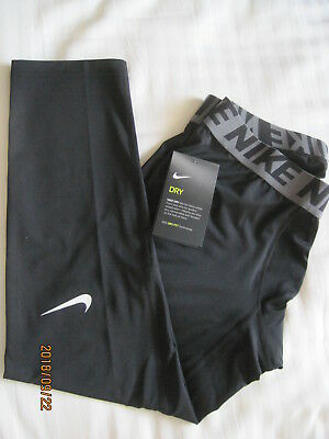 NIKE Men's Dri-FIT Pro Cool 3/4 Compression Running Workout Tights BNWT