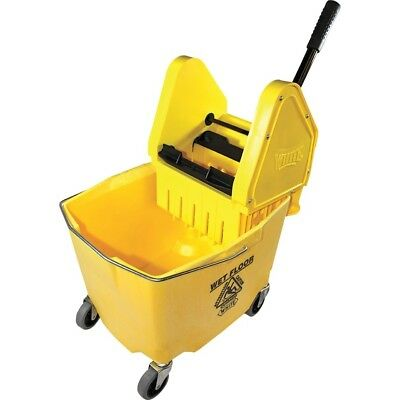 Impact Products IMP26353Y 35 qt Plastic Bucket with Casters