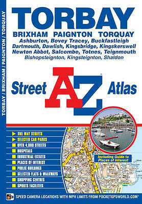 Torbay Street Atlas (London Street Atlases), Geographers A-Z Map Company, Used;