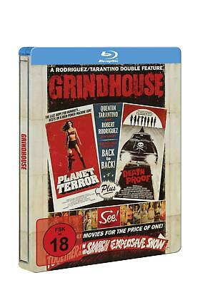 Blu-ray/ Grindhouse: Death Proof / Planet Terror - Limited Collector's Edition