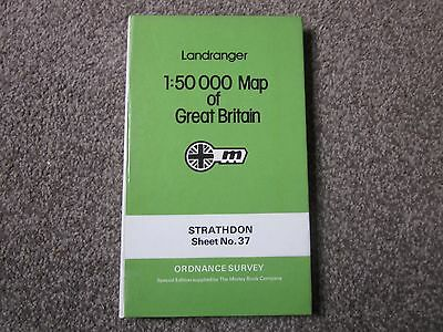 Strathdon  -  Ordnance Survey Landranger Hardback Map  .  Sheet 37