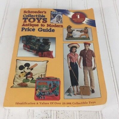 Schroeders Collectible Toys Antique To Modern Price Guide 1997/3 Edition box76