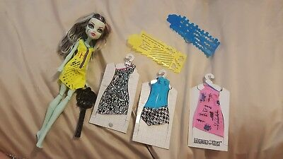 Frankie Stien Monster High Doll With DIY dresses