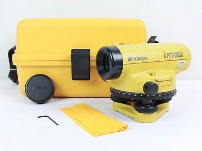 Topcon AT-G6 Automatic Auto Level with Hard Plastic Carrying Case - Yellow