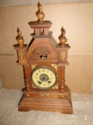 Antique Clock, 1890,