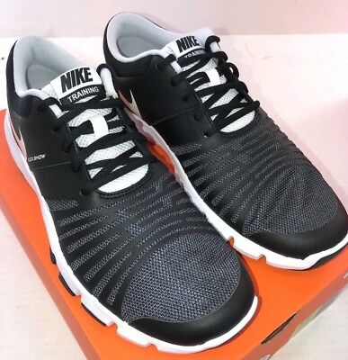 98e5eea30a94 NIKE FLEX SHOW TR 5 Men s Training Shoe 844401-002 Black Mesh NWD ...