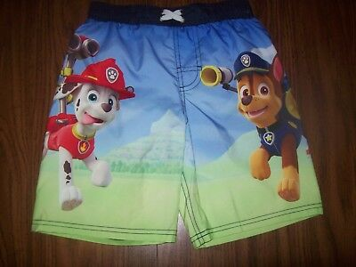 a78fedd5c6 Little Boys Nickelodeon PAW PATROL Swim Shorts Trunks - Size 7 - New NWT -  BLUE