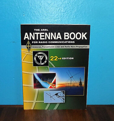 The ARRL Antenna Book for Radio Communications 22nd Edition Book w/ Software