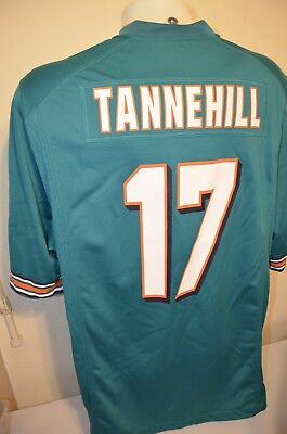 New NIKE ON FIELD Miami Dolphins Ryan Tannehill 17 Orange NFL Jersey