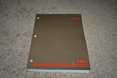 1996 1997 Acura 3.5 RL factory electrical troubleshooting manual
