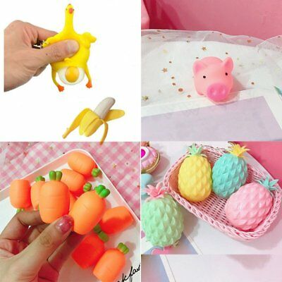 Fashion Cute Pineapple Pig Scented Toys Decompression Scream Vent Toys Adults