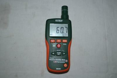 Extech M0290 8-in-1 Pinless Moisture Meter and IR Thermometer - Orange/Green