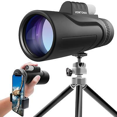16x50 Monocular Telescope VEMTONA High Powered Monoculars Scope for Adults