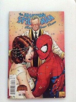 The Amazing Spider-Man Renew Your Vows#5•quesada 1:50•color Variant Edition