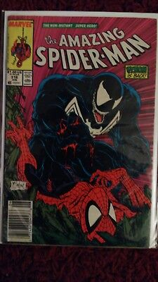 The Amazing Spiderman  316 first full cover of Venom  * movie coming soon
